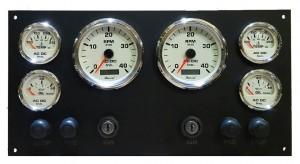 Black panel dual station