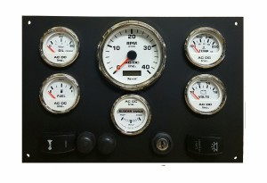 YANMAR PANEL WITH HORN SWITCH